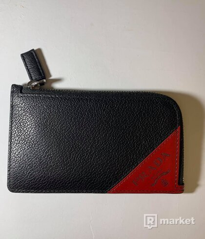 Prada card holder/coin pocket