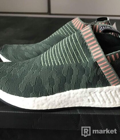 Adidas NMD City Sock 2 primeknit trace green