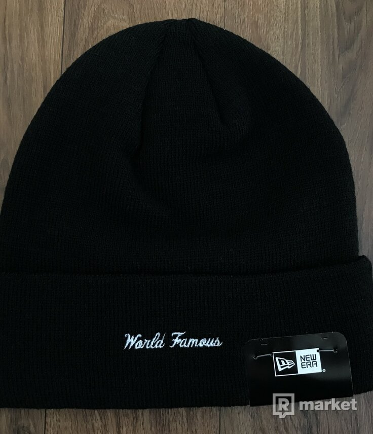 Supreme X New Era Box Logo Beanie Black