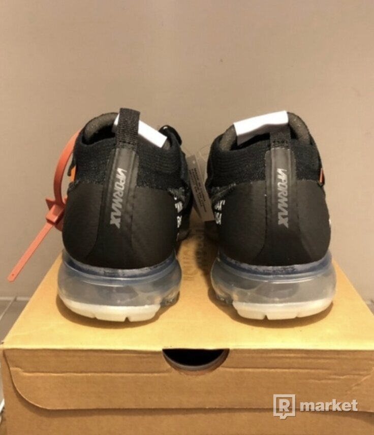 Nike x Off White Vapormax Black