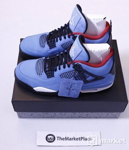 Nike Air Jordan 4 Travis Scott Cactus Jack