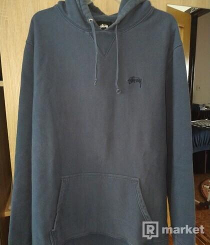 Stussy navy hoodie