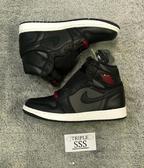 """Air Jordan 1 """"Black Satin"""""""