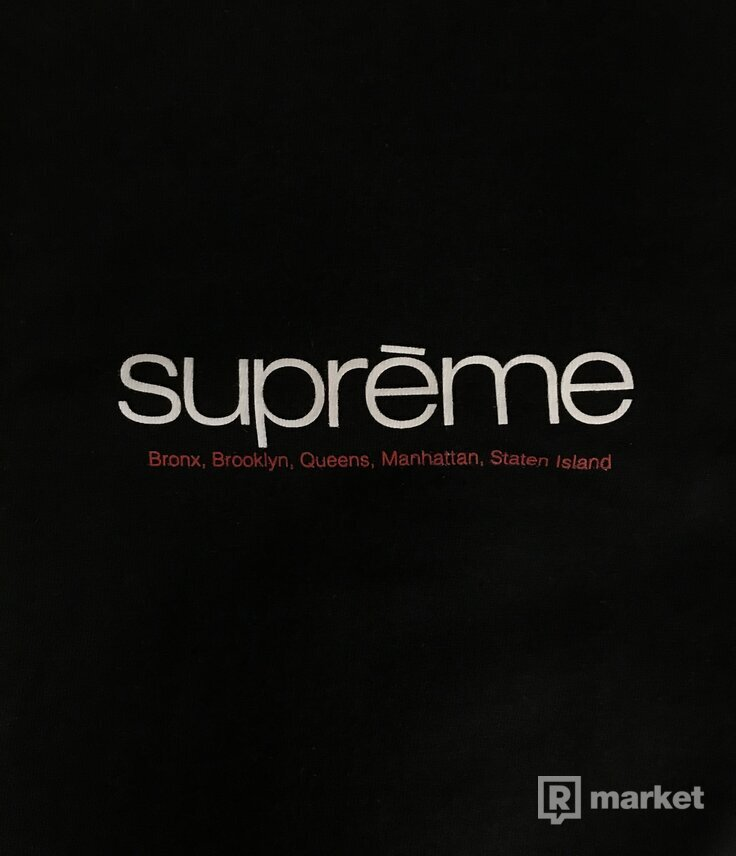 Supreme Five Boroughs Tee