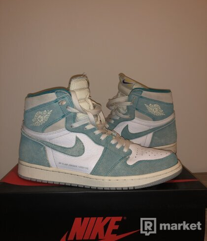 AJ1 Retro HI og turbo green