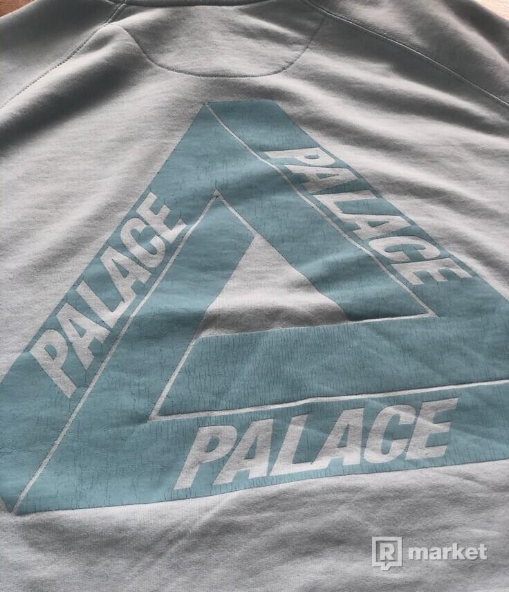 Palace Chill Blue Flocka Hoodie 2016