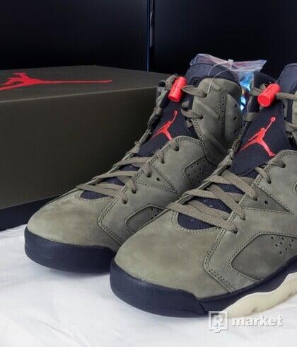 Air Jordan 6 Retro SP x Travis Scott