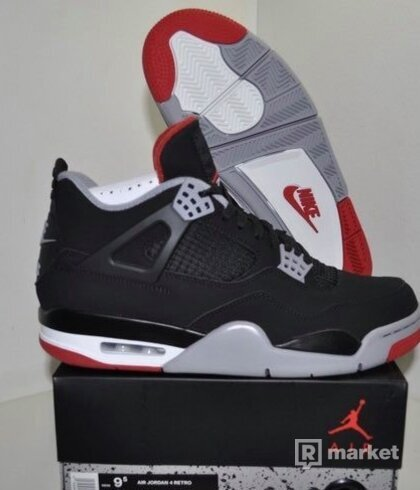 Air Jordan 4 Retro [Bred 2019]