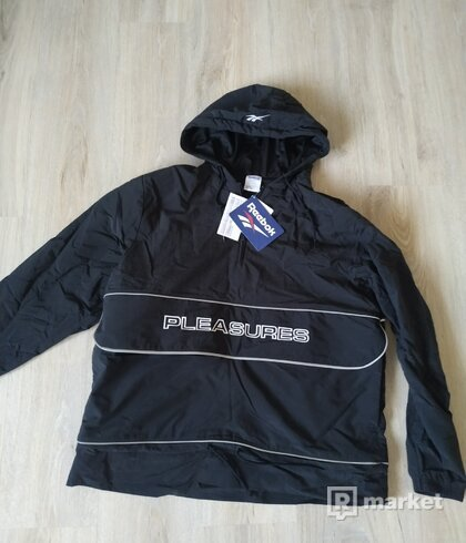 Reebok x Pleasures vector anorak