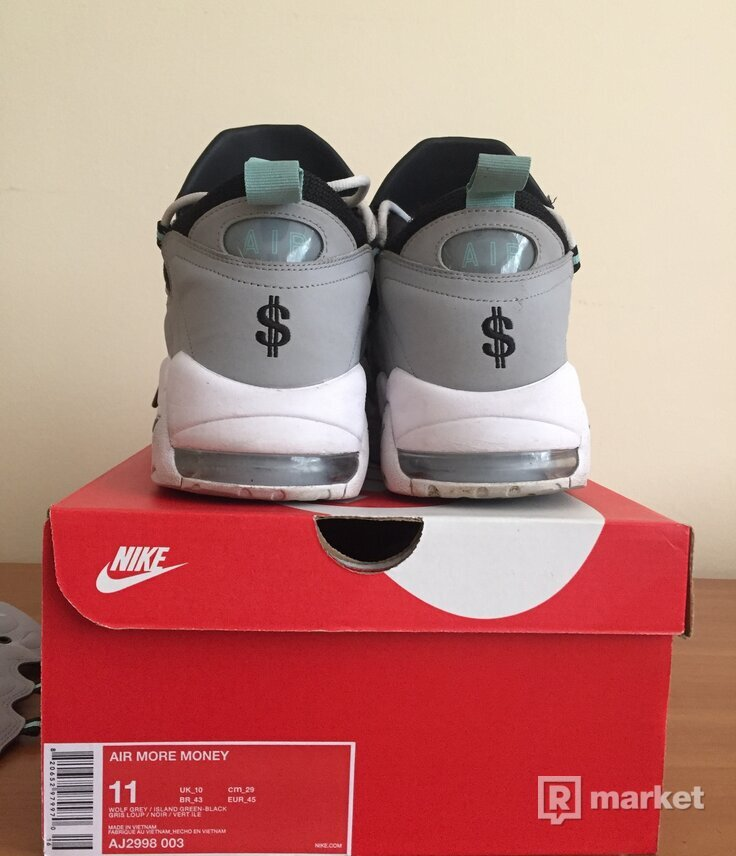 NIKE Air Money (grey&green)