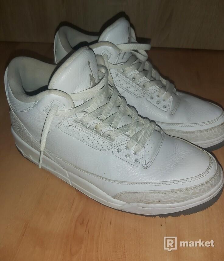 Jordan 3 retro pure white