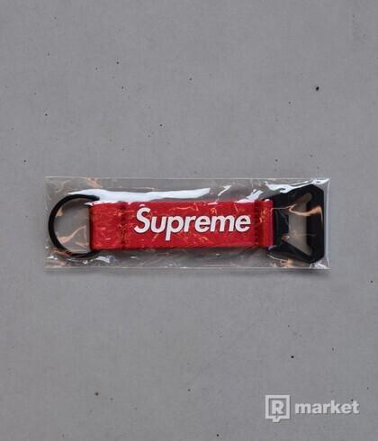 Supreme Bottle Opener Webbing Keychain