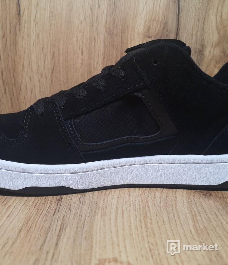 Vans Docket Suede Black/White