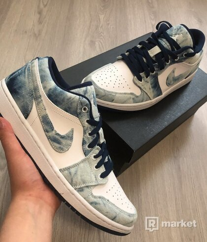 Nike Jordan 1 Low Denim