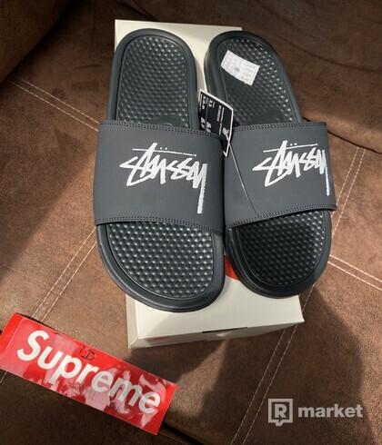 Nike x Stussy Benassi sandals