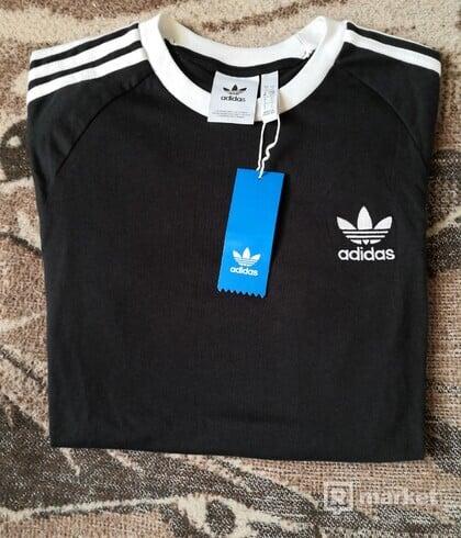 Adidas Originals 3 - Stripes Tee Black
