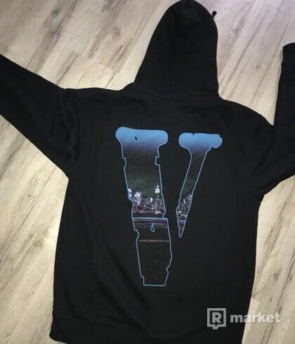 pop smoke x vlone armed and dangerous (hoodie)