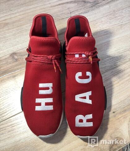 Adidas Human race scarlet