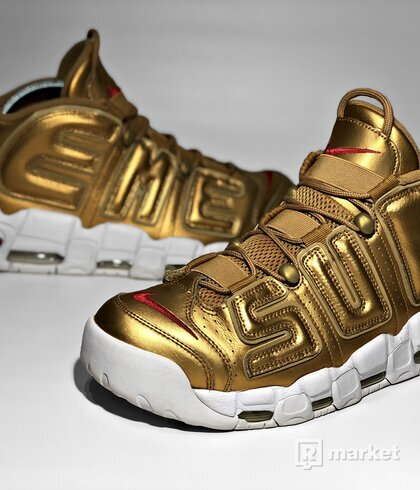Nike Air More Uptempo x Supreme (Gold)
