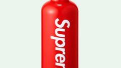 """""""SUPREME SIGG TRAVELLER 0.6L WATER BOTTLE RED"""" -supreme flaška"""
