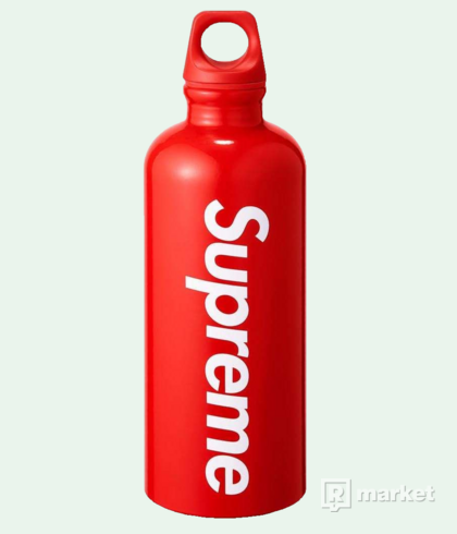 """SUPREME SIGG TRAVELLER 0.6L WATER BOTTLE RED"" -supreme flaška"