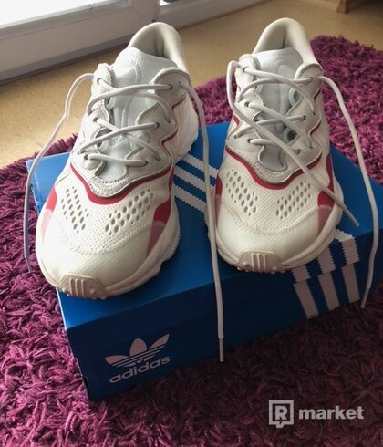 Adidas Ozweego Crystal White Red