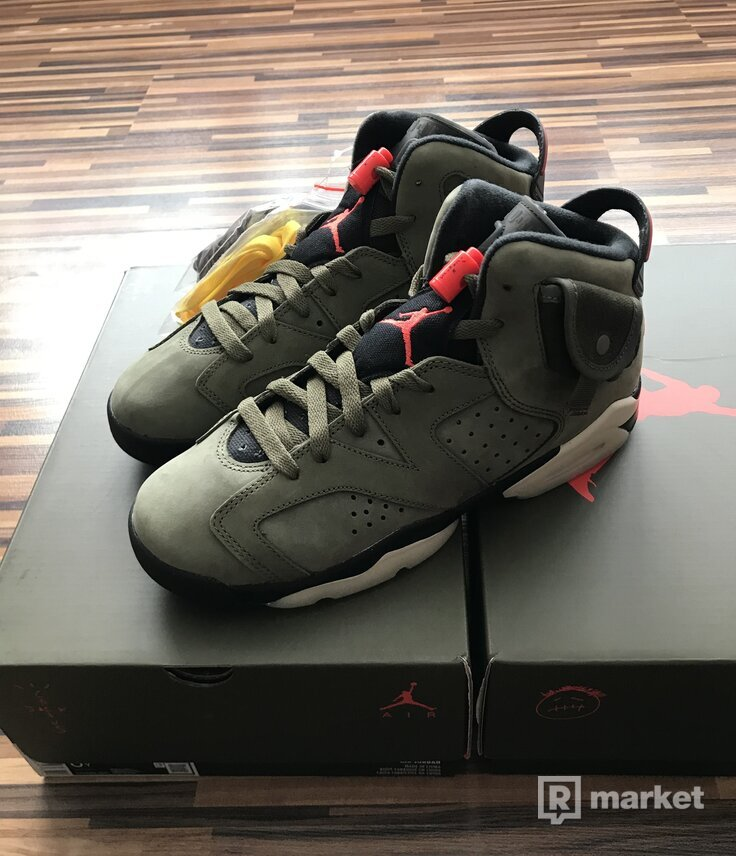 Air Jordan 6 Travis Scott gs