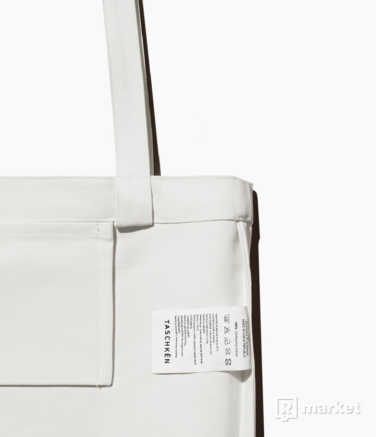 Plátená taška Basic White (Taschkēn)