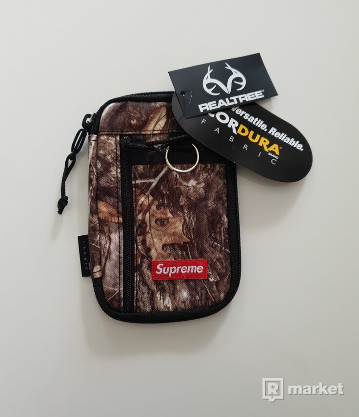 Supreme Small zip pouch bag