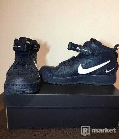 Nike Air Force 1  MID '07 LV8 Utility BLUE BRAND