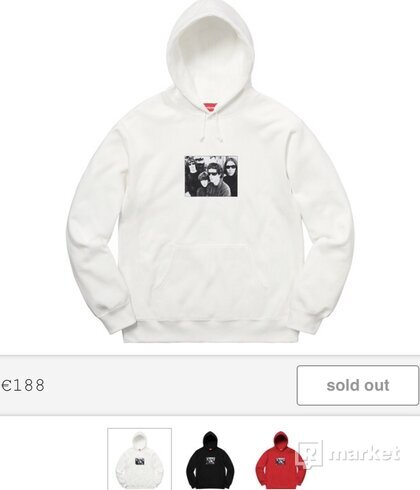 Supreme/The Velvet Underground Hooded Sweatshirt White