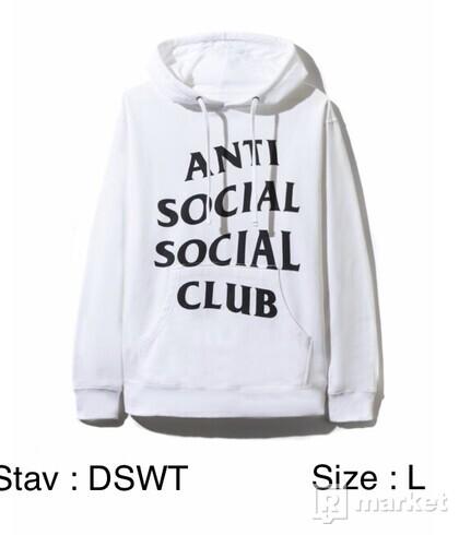 Assc shatto white hoodie
