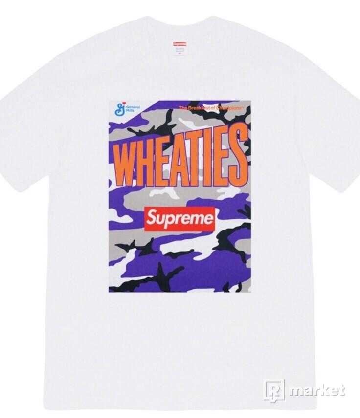 Supreme x Wheaties Tee White