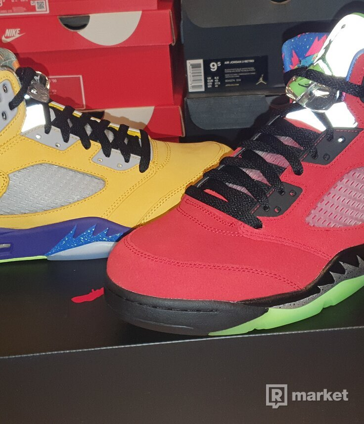 """Air Jordan 5 """"What The"""""""