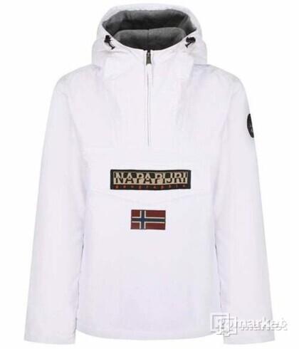 Napapijri Tribe Rainforest Winter Jacket Bright White