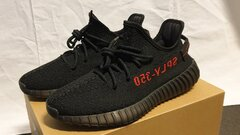 adidas Yeezy Boost 350 V2 Black Red(bred)