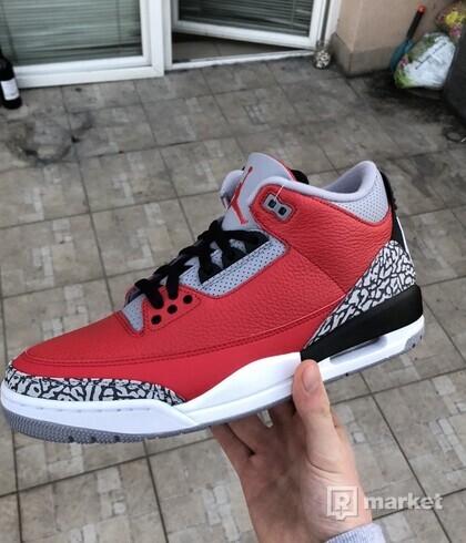 Jordan 3 SE Fire Red