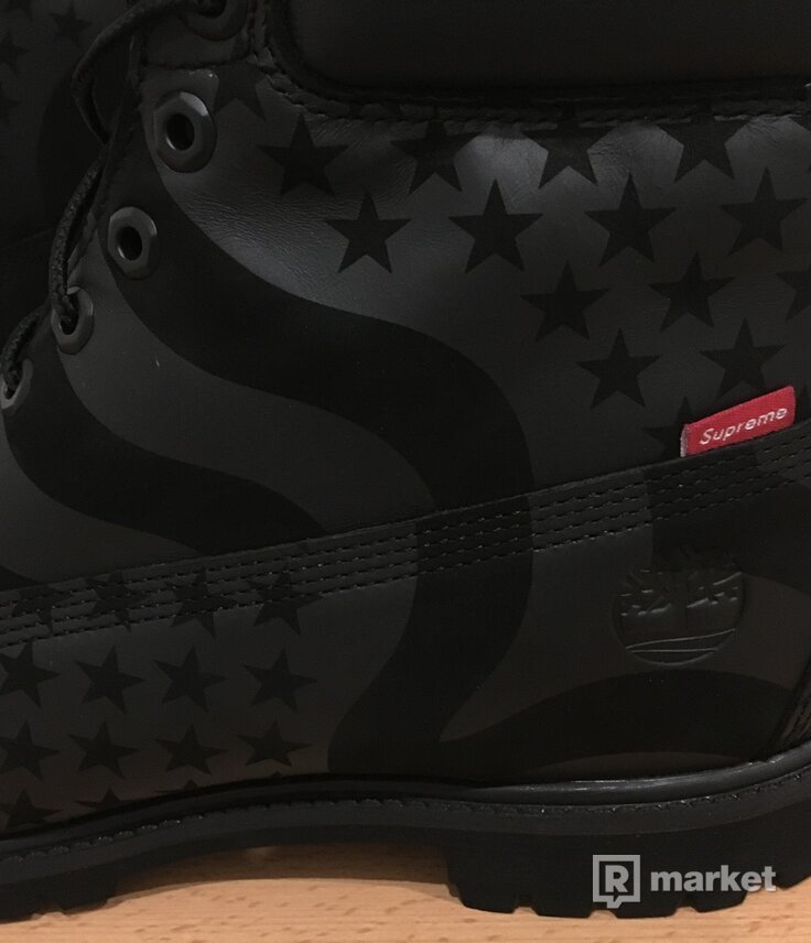 Supreme/Timberland Stars and Stripes EU46/UK11,5