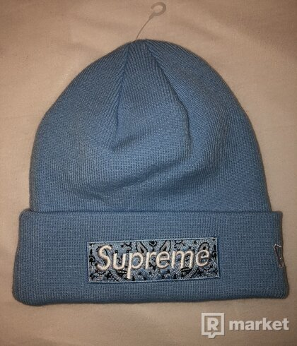 Supreme Beanie Light Blue
