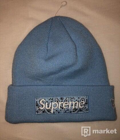 Supreme Beanie Light Blue