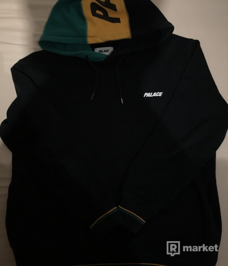 Palace Flagin Hood Black L