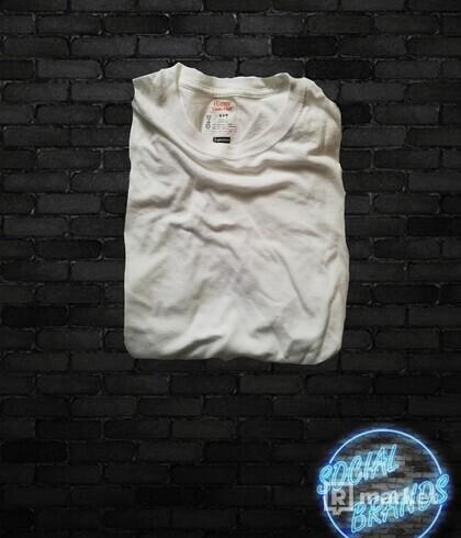 Supreme hanes tričko