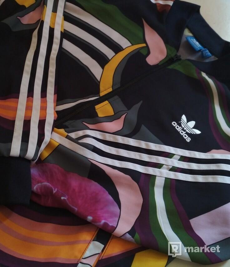 Dámska vzorovaná Adidas mikina
