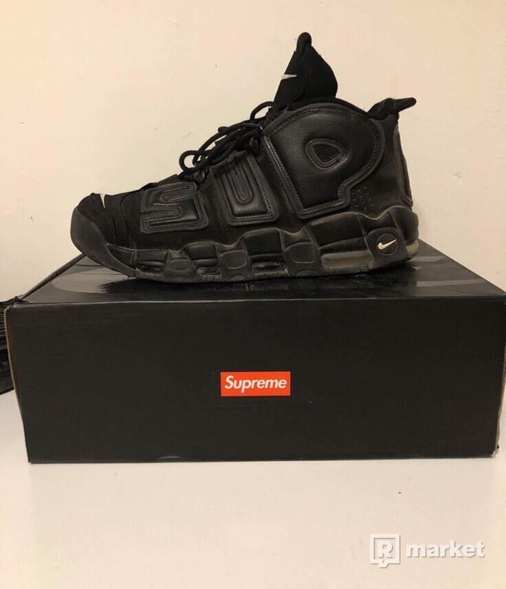 Predám alebo vymením tenisky  Supreme x Nike Air More Uptempo