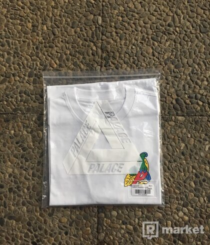 Palace Parrot  T-Shirt White