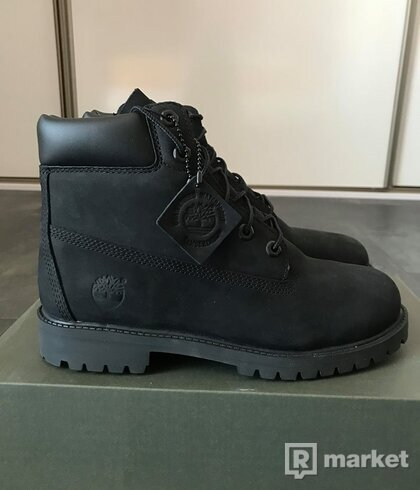 Timberland 6 inch junior black