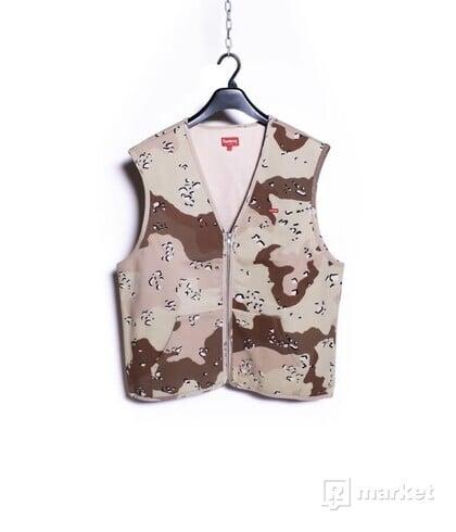 Zip Up Sweat Vest