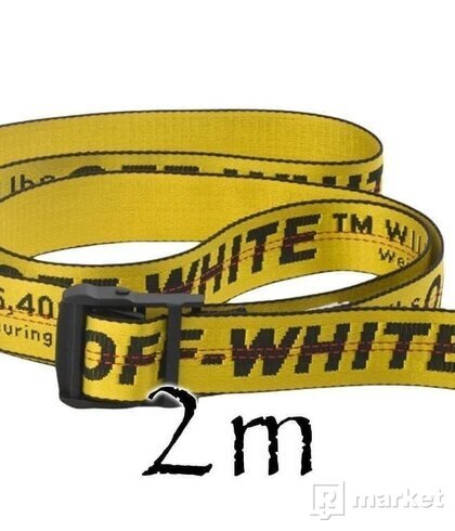 OFF-WHITE belt 2m