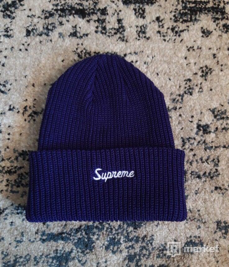 Supreme beanie purple
