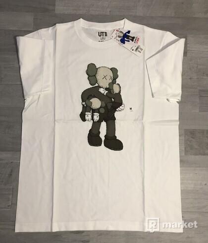 KAWS x Uniqlo Graphic Tee (Grey/White)